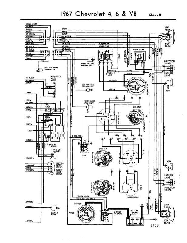 67 Fusible Link Help Chevy Nova Forum Electrical Wiring Diagram Circuit Diagram Electrical Diagram