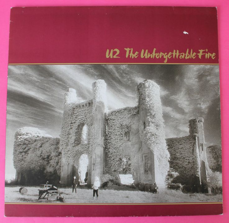 U2 - The Unforgettable Fire -Island 206 530-620- Vinyl LP, OIS