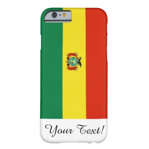 #Flag of #Bolivia #Barely #There #iPhone 6 #Case