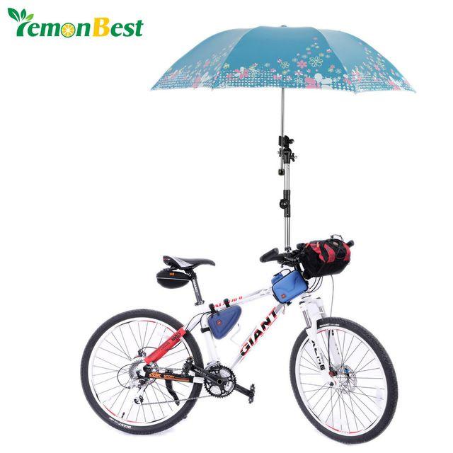 Guarda-chuva de montagem conector para de bicicleta cadeira de rodas carrinho de bebê carrinho de bebé