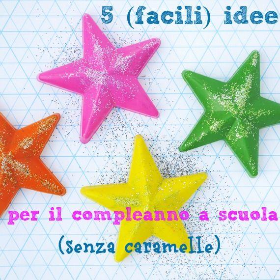 5 idee per festeggiare il compleanno a scuola (senza caramelle)