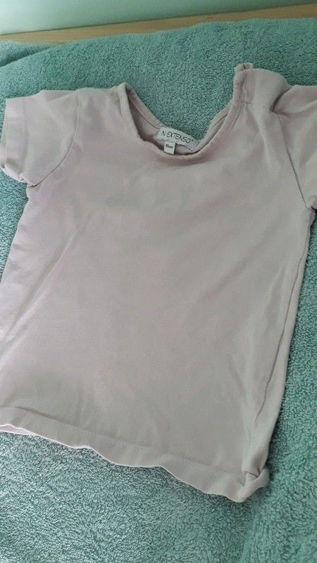 b5b018401e52c T shirt fille 1 an in extenso