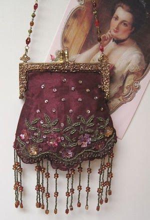 Vintage bag - so Downton Abbey :)