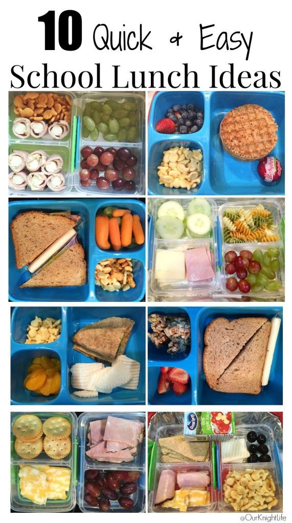 10 quick and easy school lunch ideas that your kids will love to eat