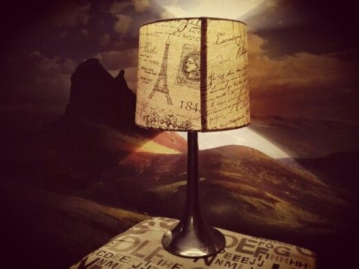 This paris lamp is just adorable