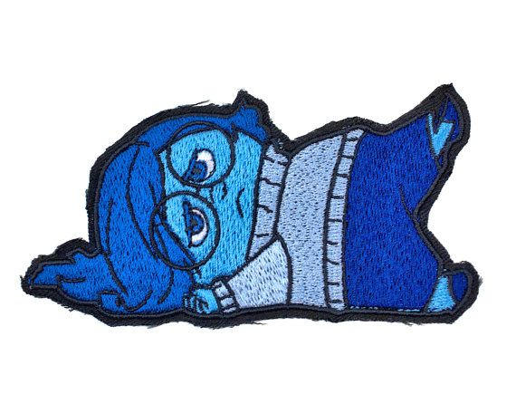 """Disney/'s Little Mermaid Ariel Character Sitting 3 1//2/"""" Tall Embroidered Patch"""