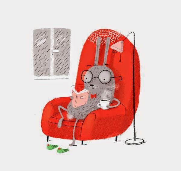 Un sofá y un libro ¡Un estupendo plan para el fin de semana!