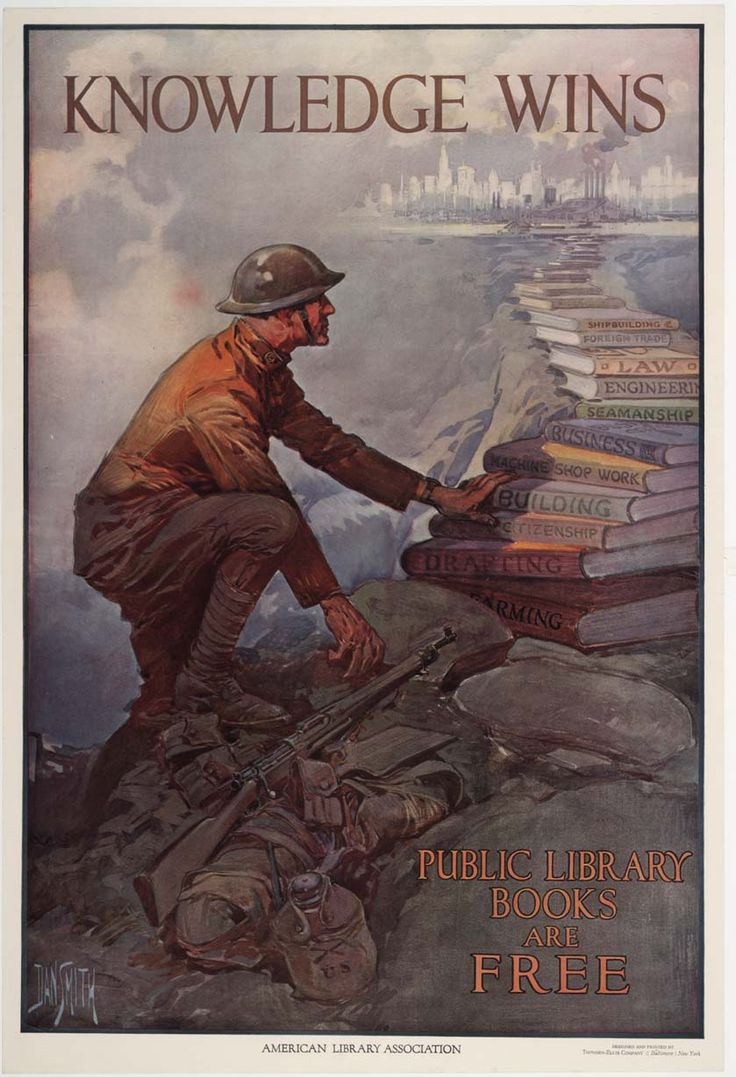 Knowledge Wins Wwi Poster In High Res