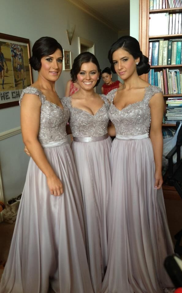 gorgeous bridesmaid dresses: I want these in royal blue