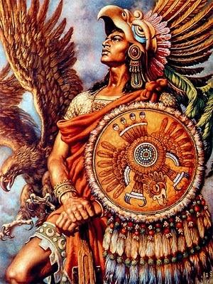 Jesus Helguera - Aztec warrior