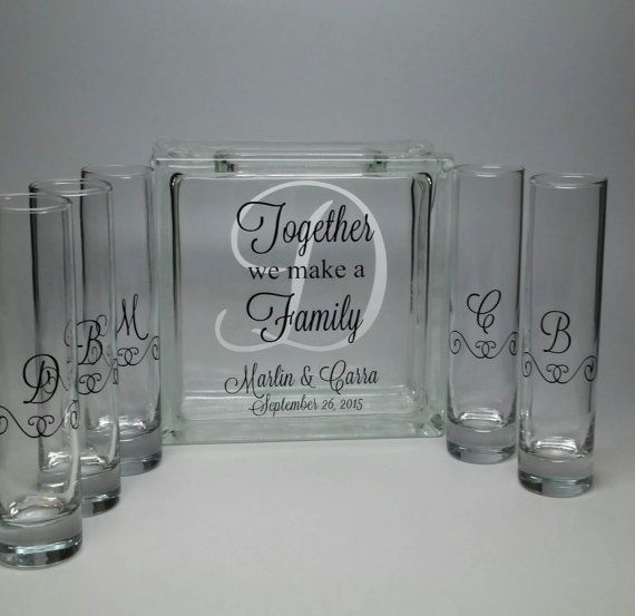Hey, I found this really awesome Etsy listing at https://www.etsy.com/listing/246071235/blended-family-sand-ceremony-set-unity
