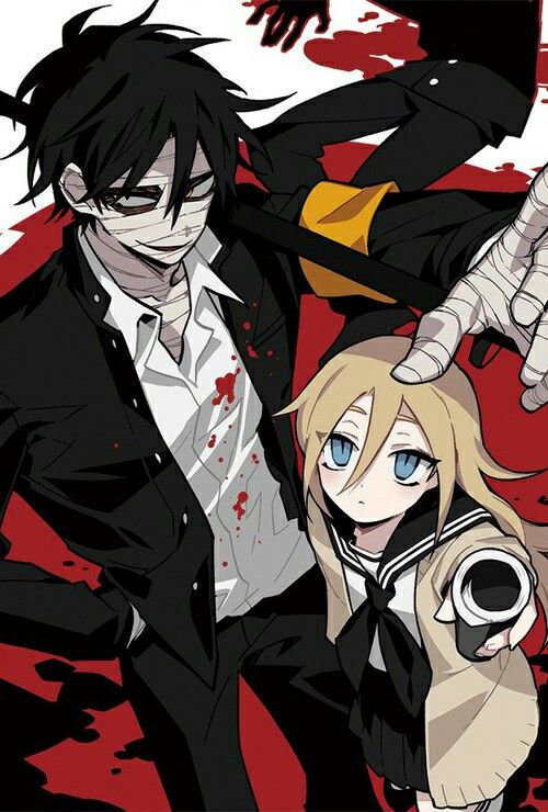 Angels of Death - Ray and Zack highschool au