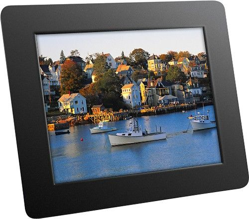 aluratek 8 lcd digital photo frame black