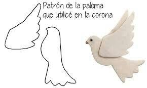 Paloma con molde