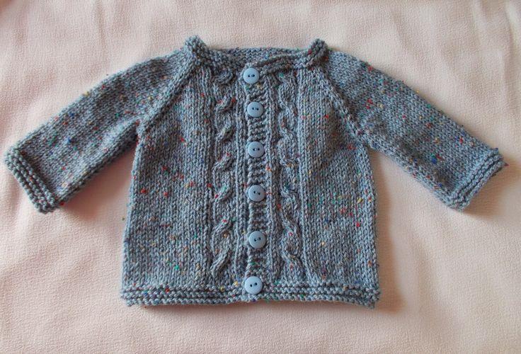 marianna's lazy daisy days: MAX Baby Cardigan free pattern
