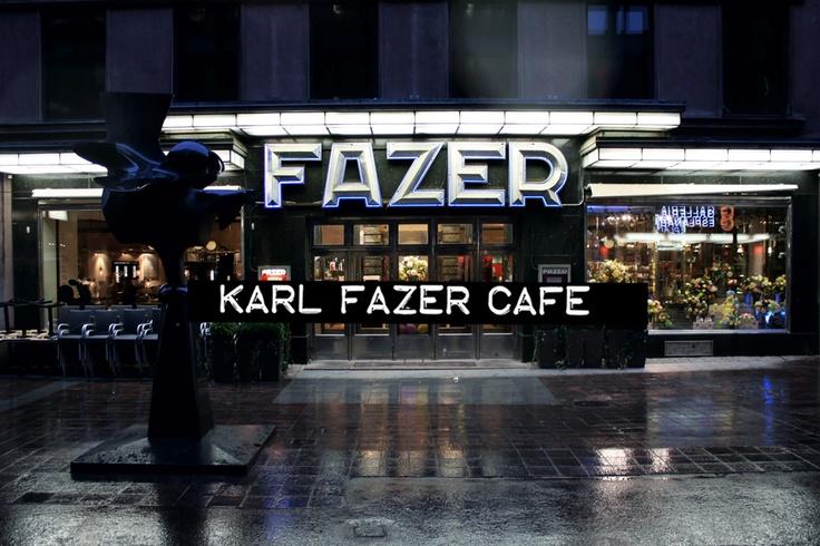 Karl Fazer Cafe / Helsinki