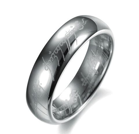 A tungsten ring to Rule Them All $1.80