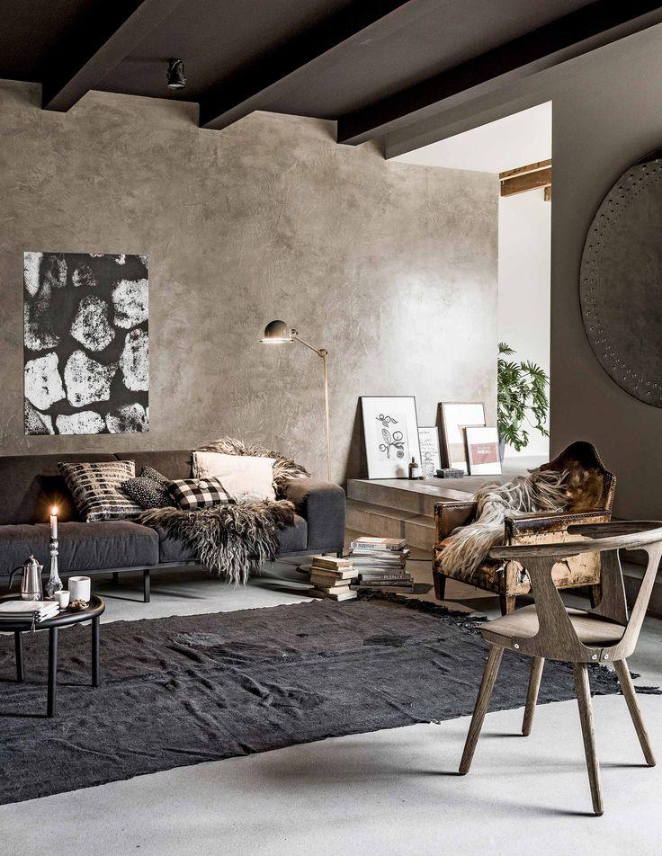 Warme woonkamer | warm living room | vtwonen 02-2017 | Styling Danielle Verheul | Fotografie Sjoerd Eickmans