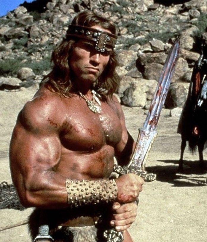 Arnoldschwarzenegger Picoftheday Photooftheday Igers Instagood Conan Instadaily Conan The Barbarian Conan The Destroyer Conan The Barbarian Movie