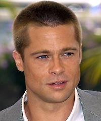 Brad Pitt short hairuts