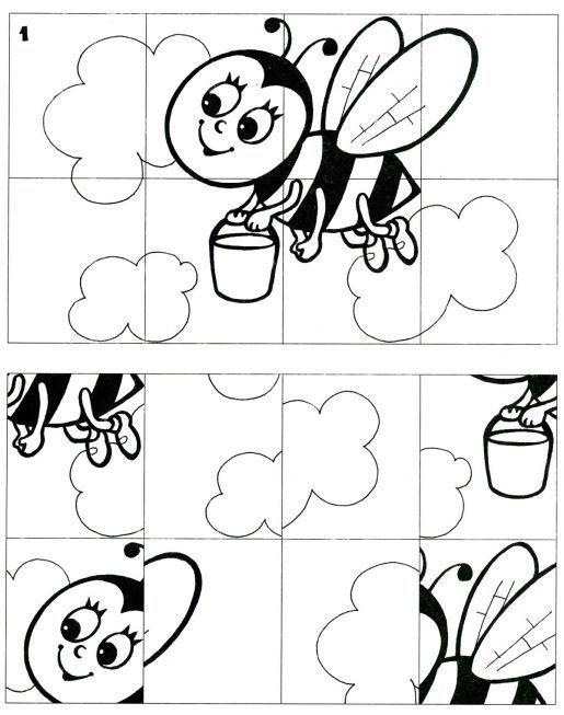 Puzzle abeja