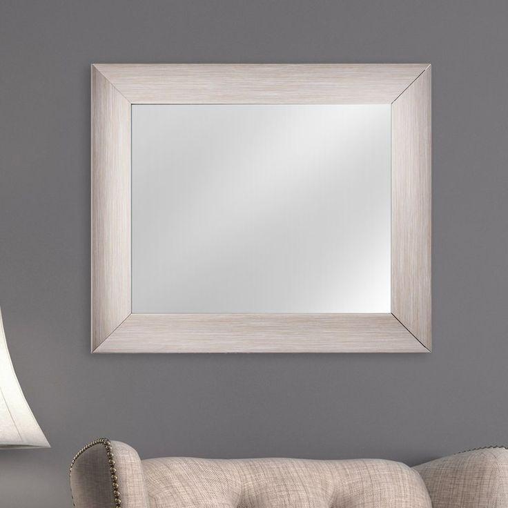 Eclectic Rectangular Framed Wall Mirror