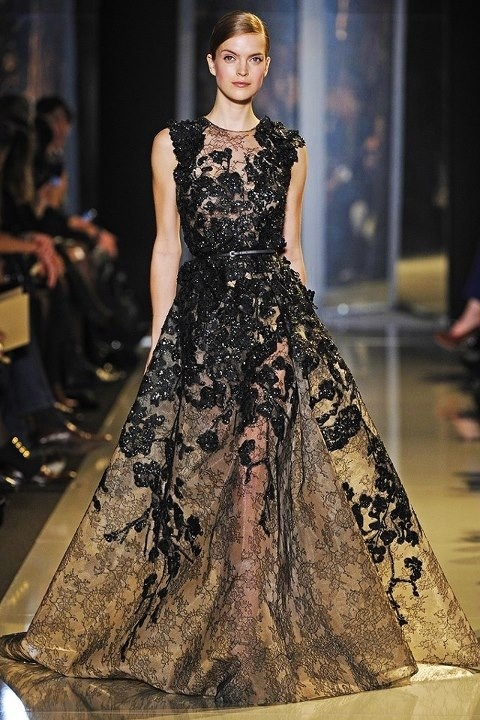 Elie Saab Spring 2013: Runway Fashion, Elie Saab Spring, Spring Couture, Ellie Will Be, Fashion Week, Couture 2013, Dresses, Fashion Photography, Haute Couture