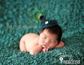 Newborn Pillbox Hat