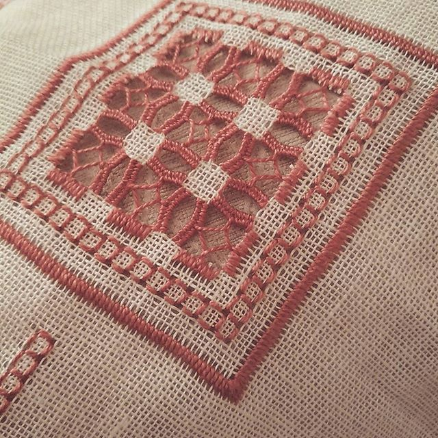 #embroidery #hardanger #handmade #ricamo #puntoantico