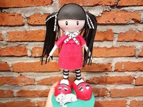 sandylandya@outlook.es  Video tutorial on assembling this doll...NOT in English...fun foam doll