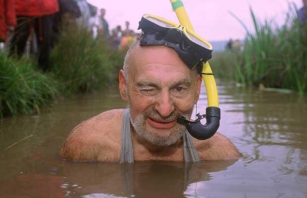 There's far too much coverage of football, olympics etc etc this summer - bog snorkling is a much better British pursuit with no Aston Martins or vacuous plastic wives.