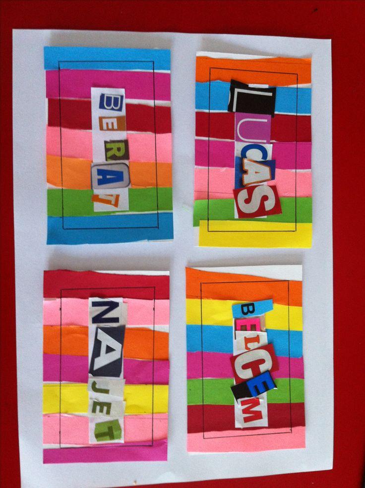 17 meilleures id es propos de couverture cahier for Decoration porte arts visuels
