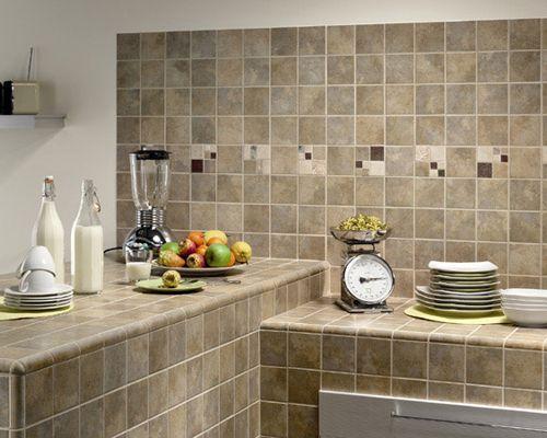 Столешница из плитки на кухню, видео, фото | Kuhniplan.ru