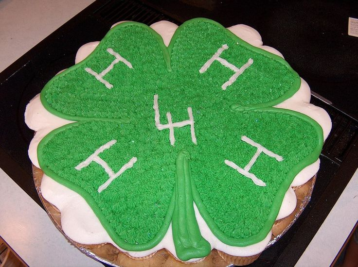 4-H Cupcake - Yellow cake, BC. Took this to our local 4-H meeting. Easy to serve and the kids loved it.
