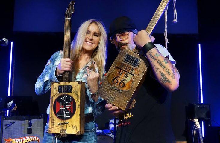 The Lita Ford Cigar Box Guitar Interview!!!  Plus new concert video