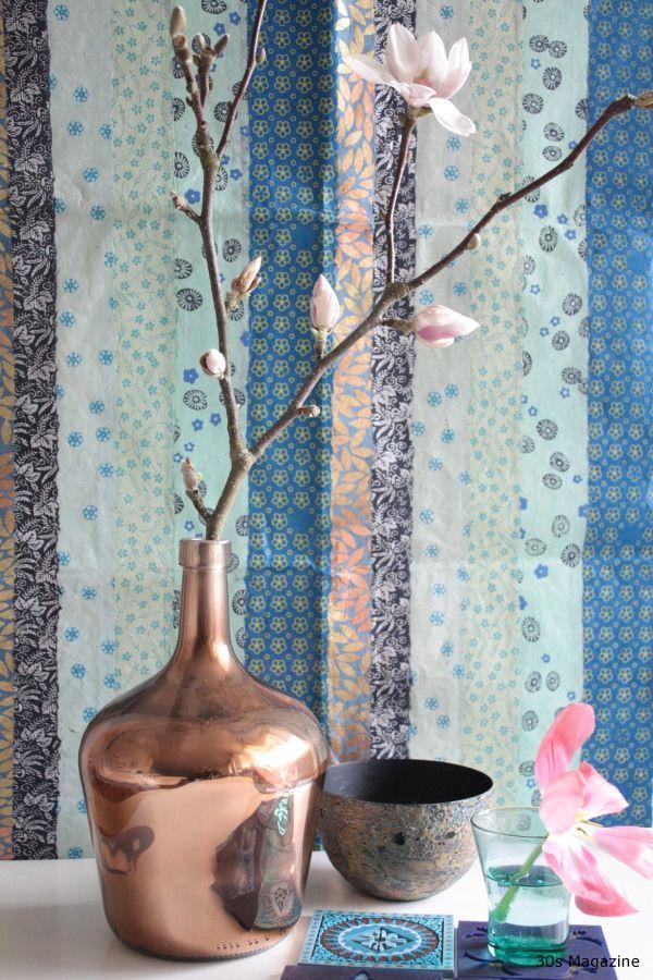 copper HK living vase