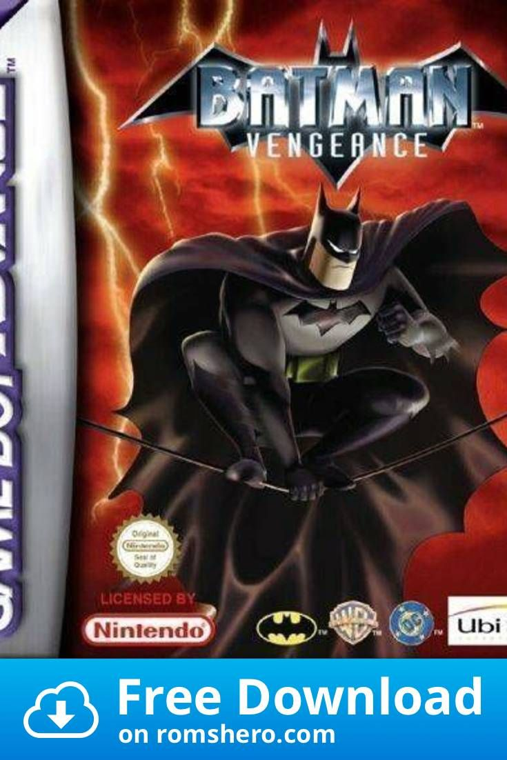 Download Batman Vengeance Rapid Fire Gameboy Advance Gba Rom Batman Games To Play