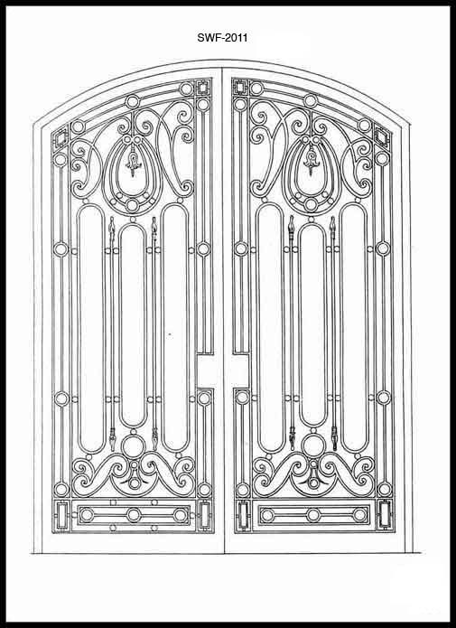 81 best Wrought Iron Gate Designs & Ideas images on Pinterest ...