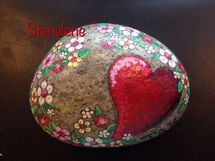 Heart surrounded by dainty flowers!