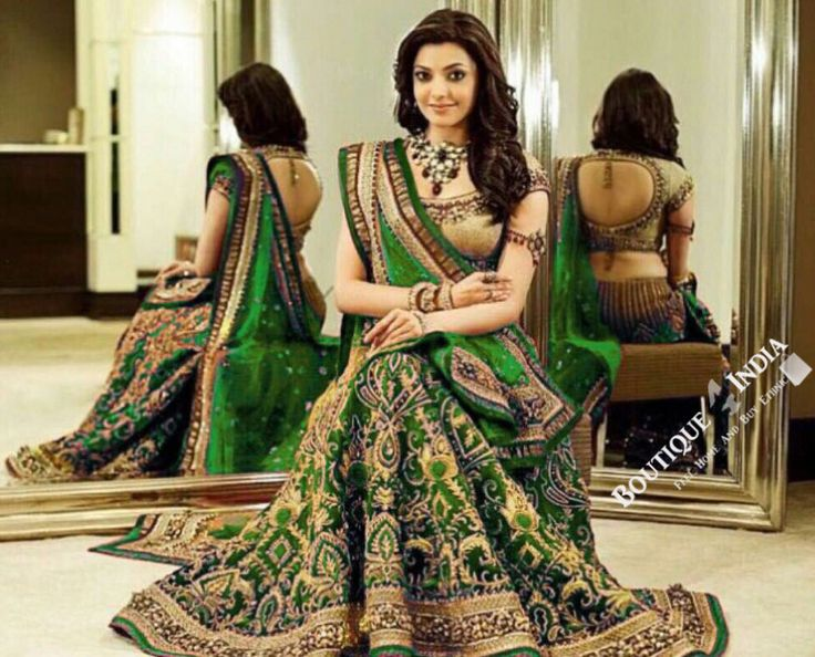 Gorgeous Bridal Lehnga - Green And Golden Semi Stitched Bridal Lehnga With Embroidery Peal And Jhumka Work. Stunning Collections For Wedding, Party, Festival, Special Occasion - Semi Stitched, Blouse - Ready to Stitch