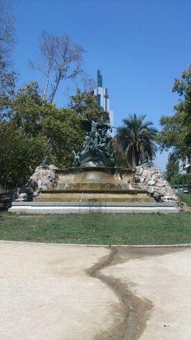 Fuente alemana near plaza Italia
