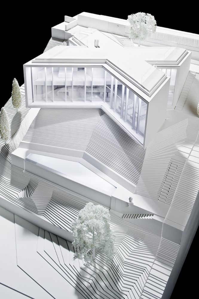 Gallery Of X House / Cadaval U0026 Solà Morales   29. Architecture ModelsMaquette  ...