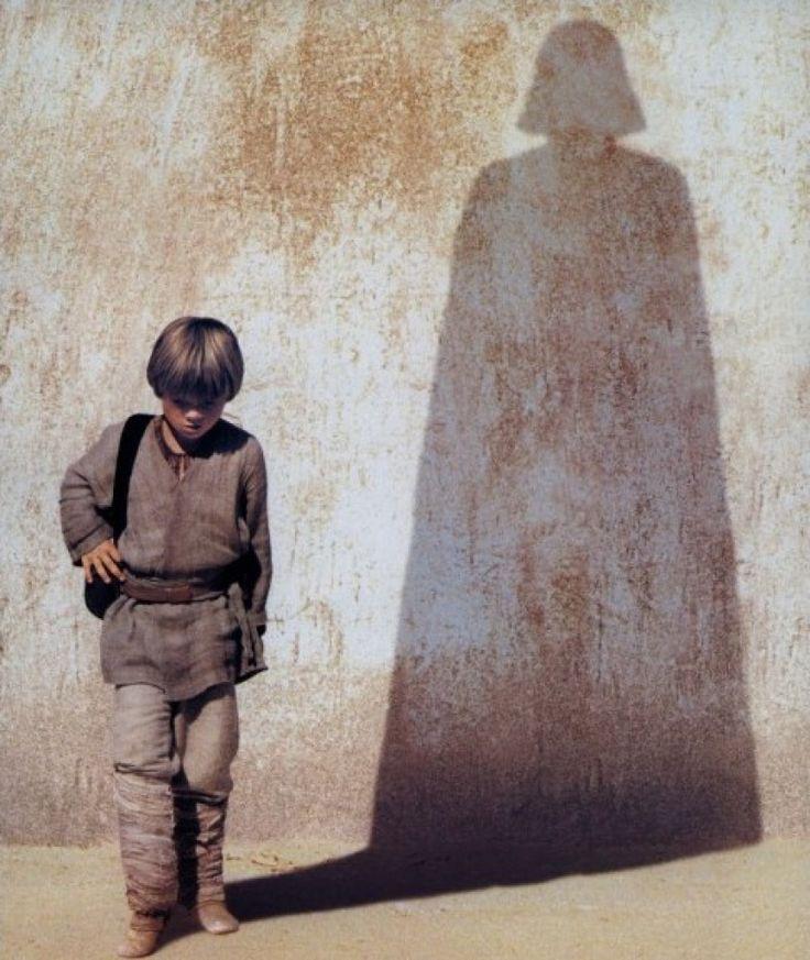 Fore shadowing...Movie Posters, Stars Tattoo, Darth Vader, Bright Future, Star Wars, Anakin Skywalker, Stars Wars Art, Dark Shadows, Starwars