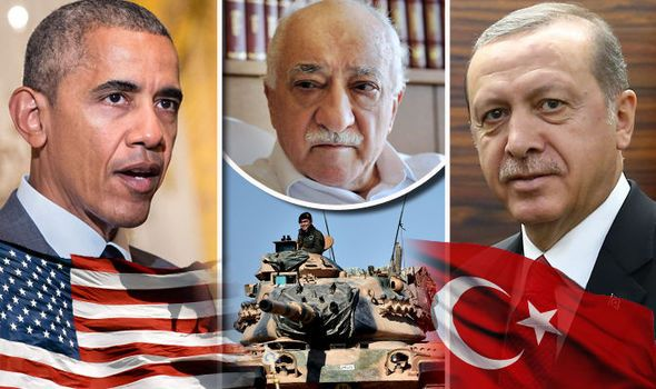 Turkey threatens WAR with America over cleric blamed for masterminding failed…