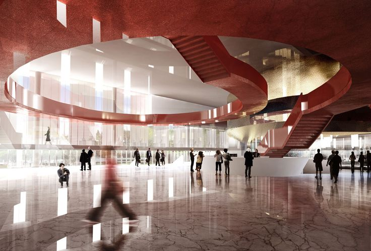 Foyer - Padova Congress Centre by 5+1AA e Tecnostudio