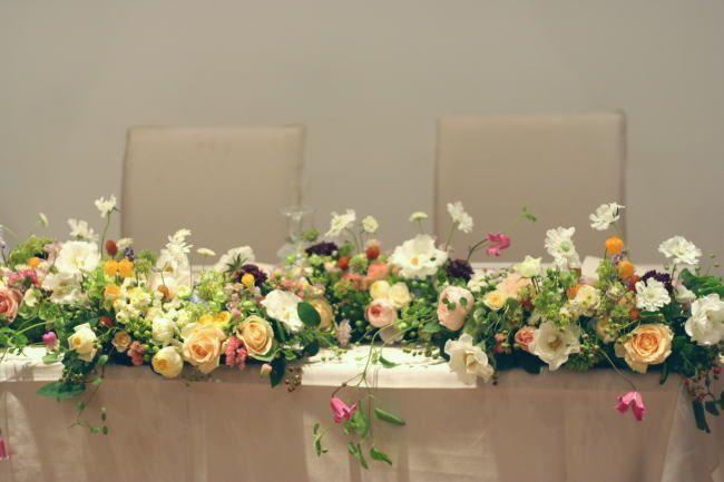 日比谷パレス様の装花  : 一会 ウエディングの花