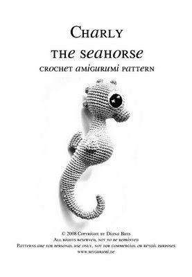 Charly Seahorse - the pattern | MyGurumi