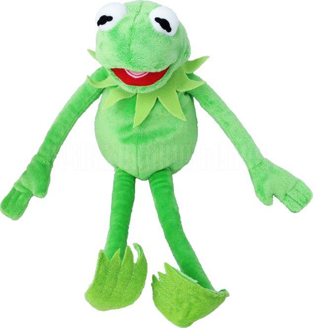 Kermit der Frosch als Plüschtier