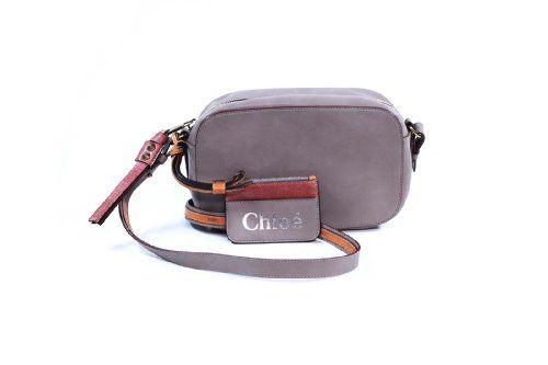 """Chloe """"Sam"""" Cross Body Bag in Mouse Grey 3S0101-311 - http://bags.bloggor.org/chloe-sam-cross-body-bag-in-mouse-grey-3s0101-311/"""