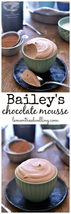 Baileys Chocolate Mousse #Thank_You _For _Saving #Click_For_More and #Follow for #Daily_Recipes